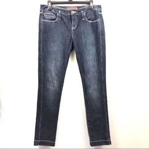 The Limited Dark Wash Short Jeans
